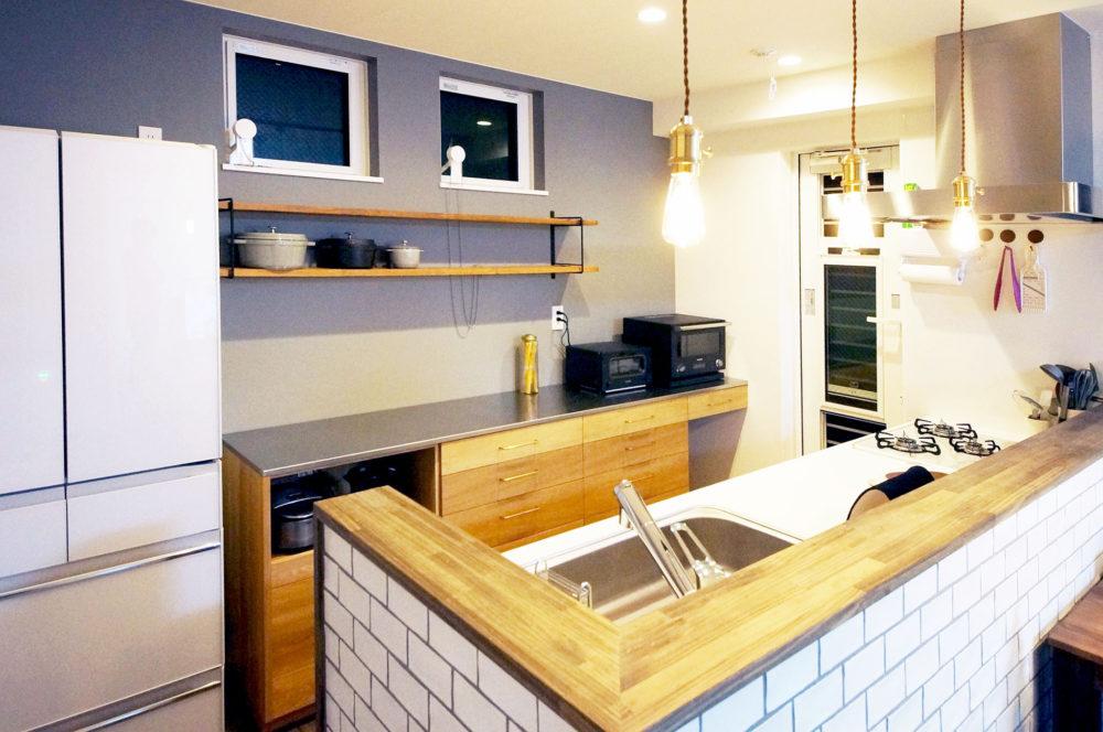 オーダー家具・カップボード食器棚下段収納/関西・大阪・吹田