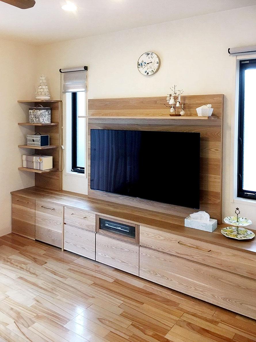 オーダー家具・テレビボード/関西・大阪・高槻