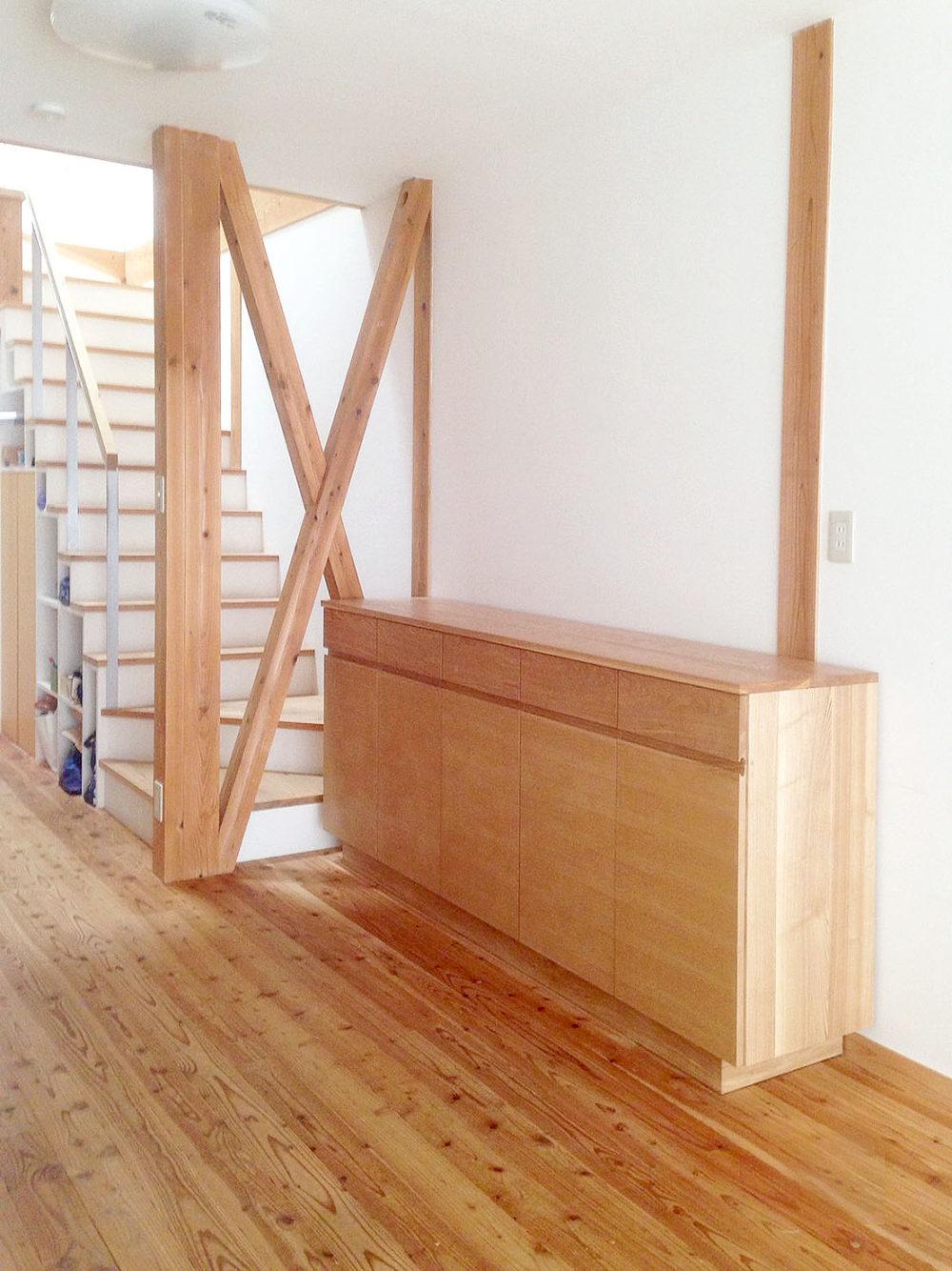オーダー家具・カップボード、壁面収納/関西・大阪