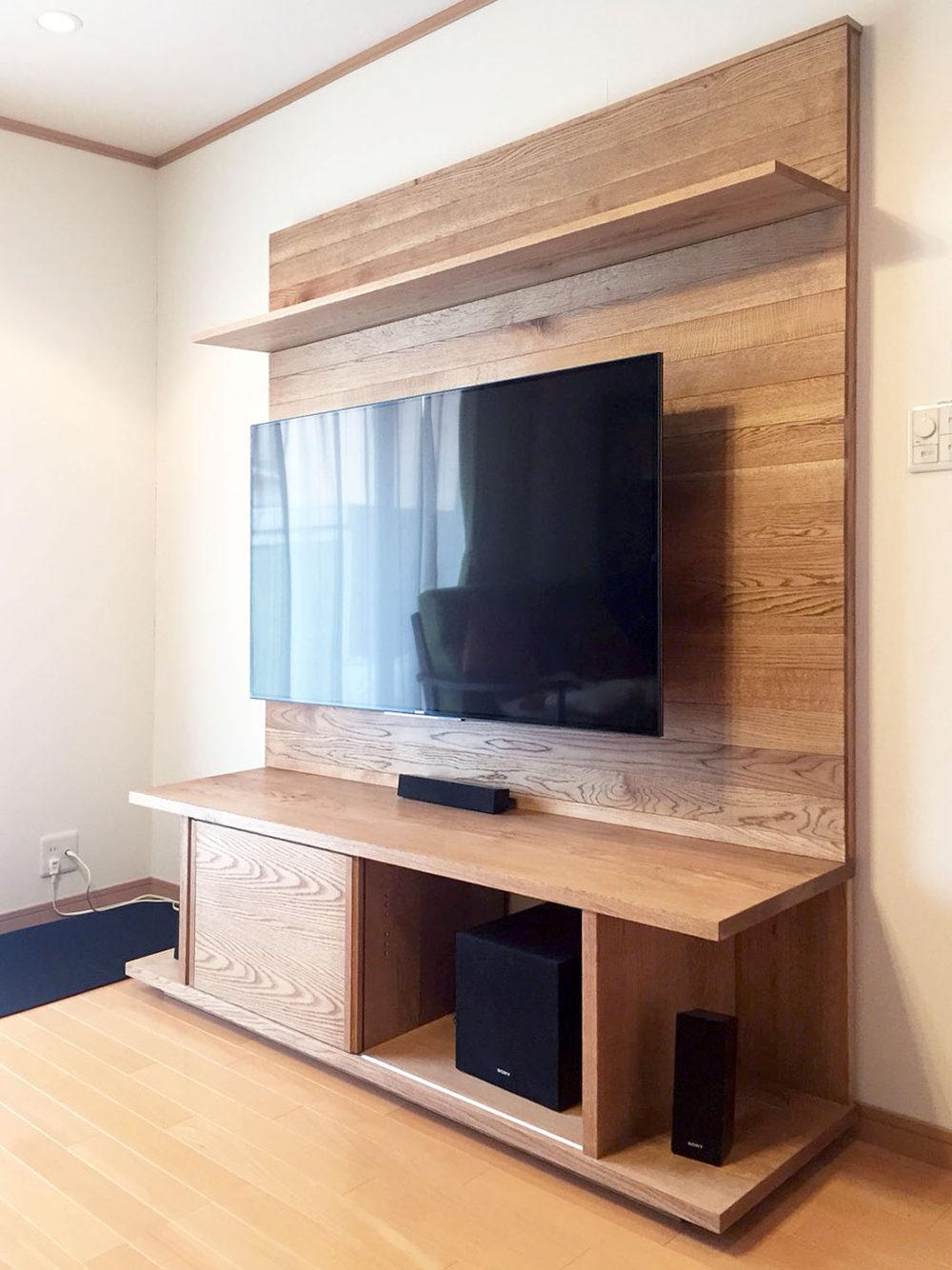オーダー家具・テレビーボード/関西・大阪・箕面市