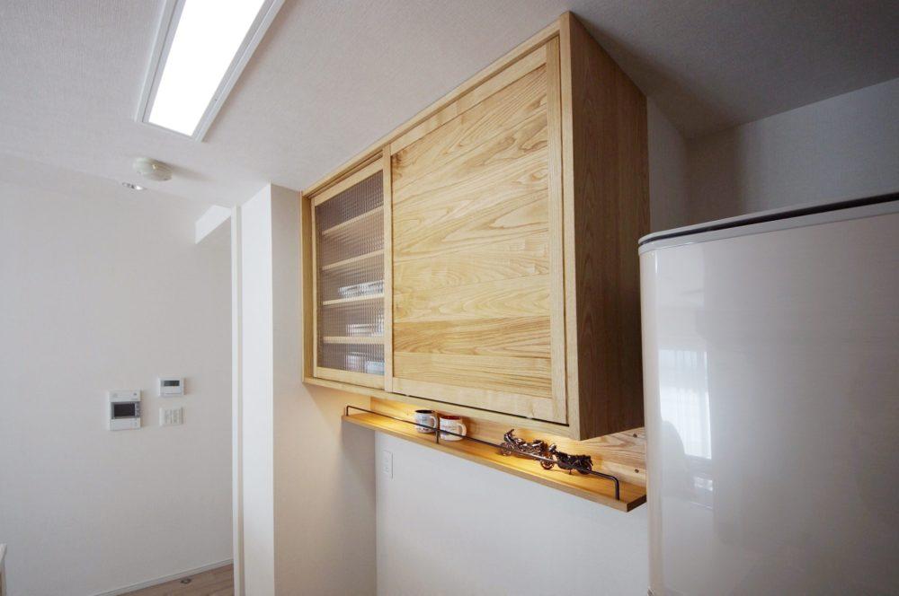 オーダー家具・食器棚吊り戸棚カップボード/関西・大阪・三島郡
