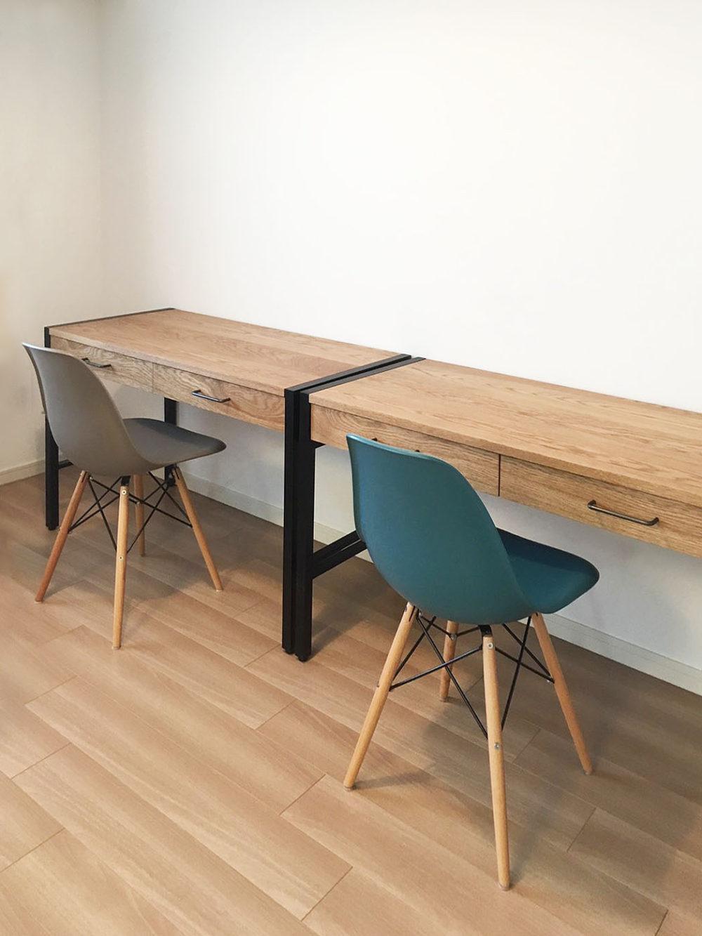 オーダー家具・机、ワークスペース