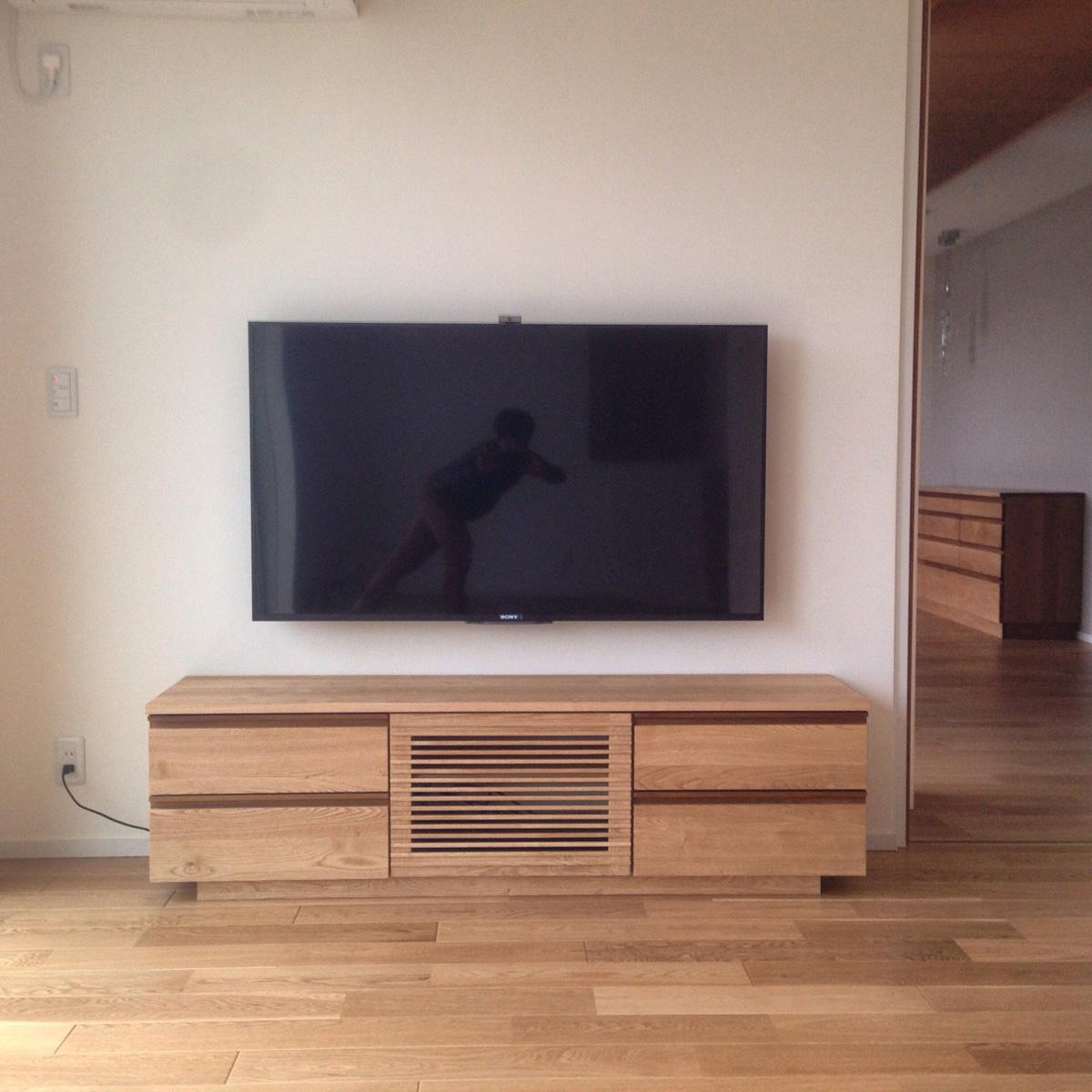 テレビボード オーダー 家具 / 愛知