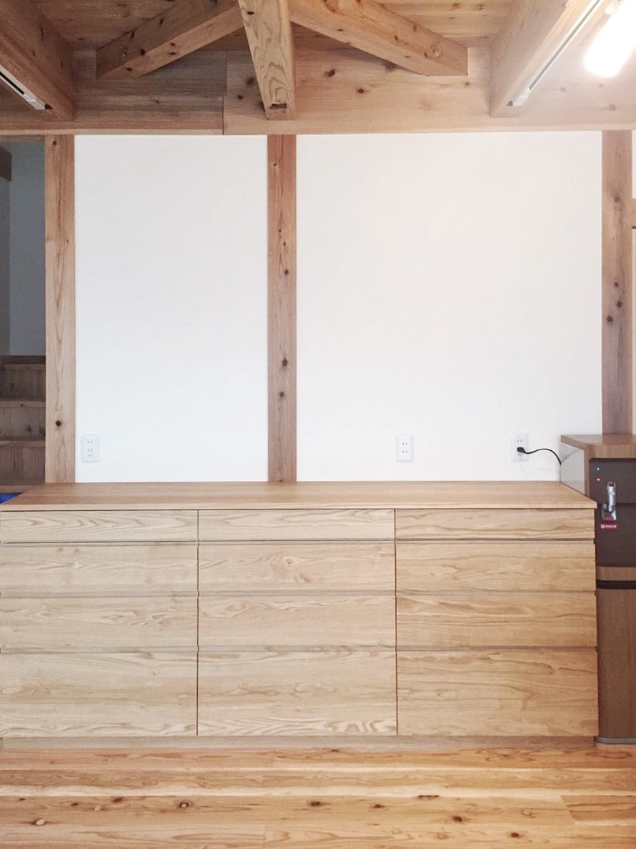 オーダー家具・カップボード食器棚/関西・兵庫・三田