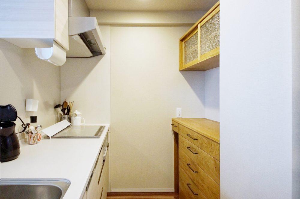 オーダー家具・カップボード食器棚/関西・大阪・堺市