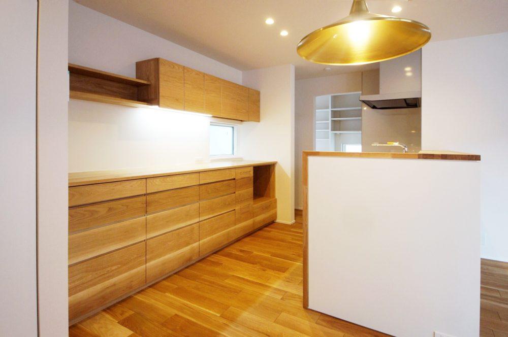 オーダー家具・カップボード食器棚/関西・京都 width=