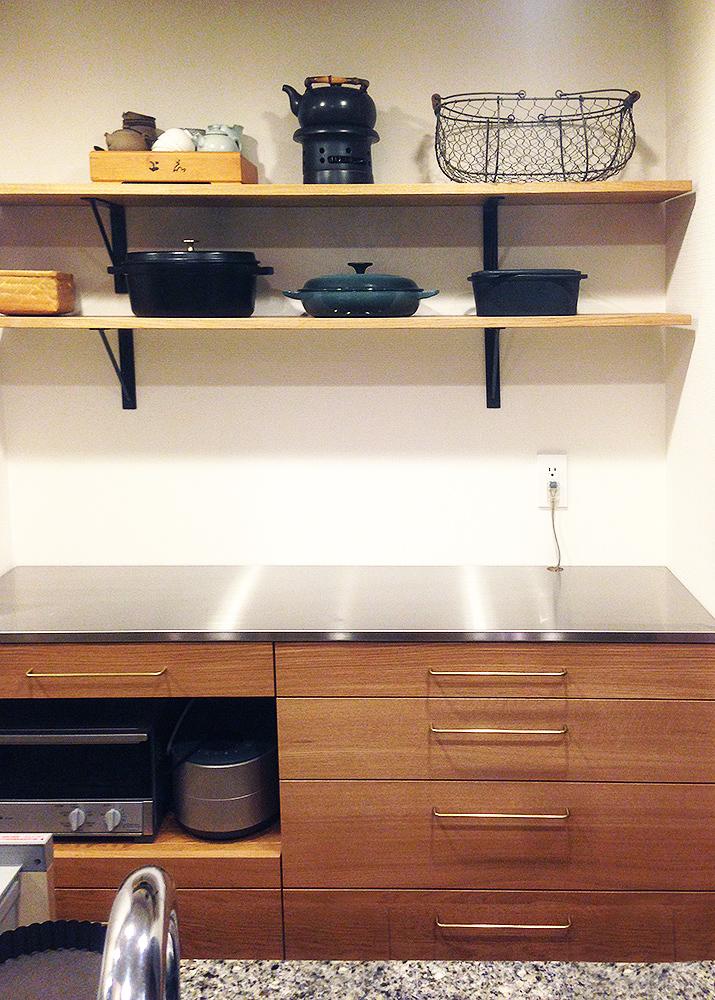 オーダー家具食器棚