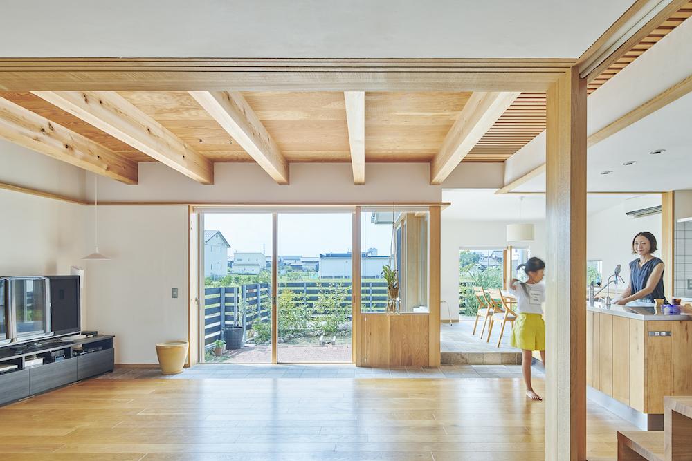「羽島の家」新築物件・オーダー家具・オーダーキッチン/岐阜県